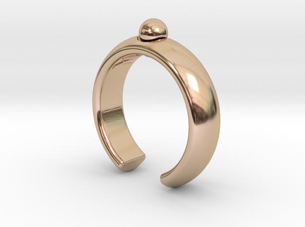 Customized ring in 14k Rose Gold