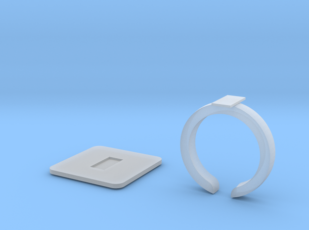 Phone clasps in Smooth Fine Detail Plastic
