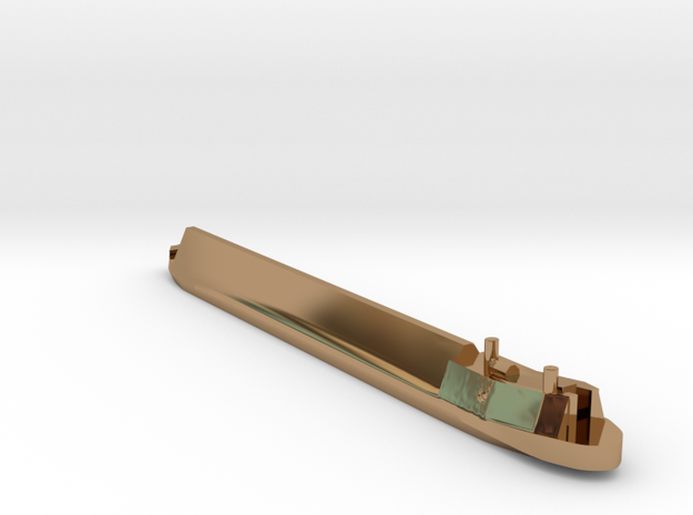 Ricky Boat in Polished Brass