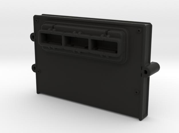 ECU Electronic-Control-Unit - Type3 - 1/10 in Black Natural Versatile Plastic