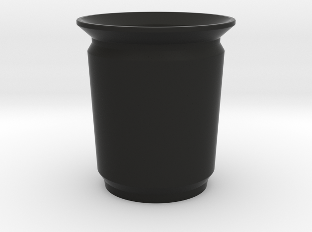 Modern Pencil Cup - Med / Desk Accessories in Black Natural Versatile Plastic