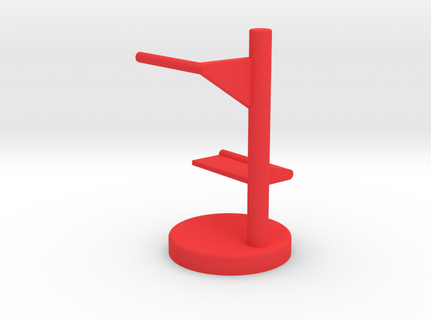 watch Shelf in Red Strong & Flexible Polished: Medium
