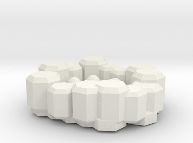 egg box(rock) in White Natural Versatile Plastic