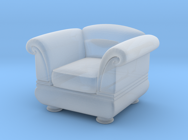 Sofa 2018 model 2 in Smooth Fine Detail Plastic