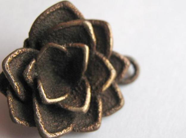Lotus || Flower Earring 3d printed