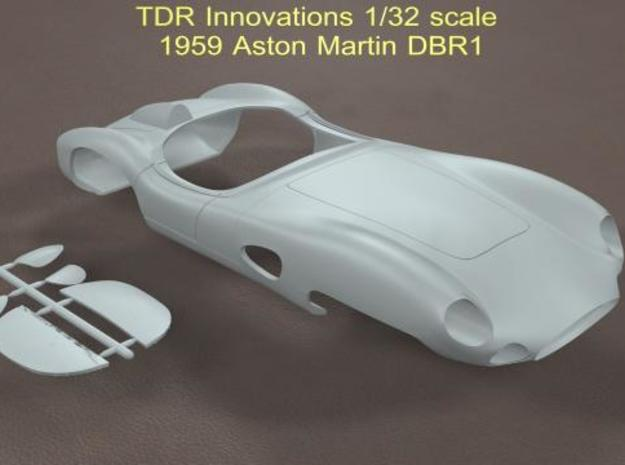 1/32 Aston Martin DBR1 in Smooth Fine Detail Plastic