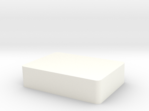 UP AND DOWNS (cookie box) in White Processed Versatile Plastic