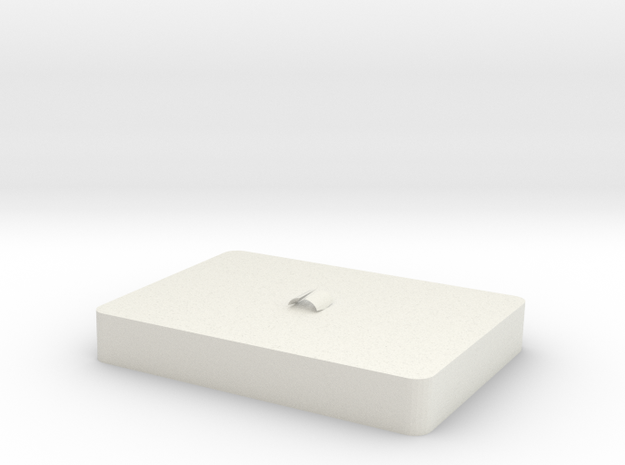 Top of cookie box in White Natural Versatile Plastic