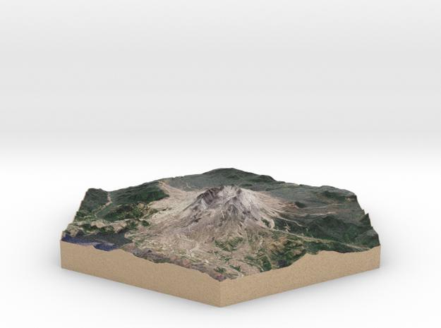 10cm Full-Color Model of Mount Saint Helens