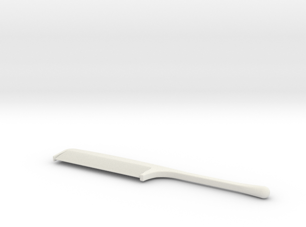 comb in White Natural Versatile Plastic
