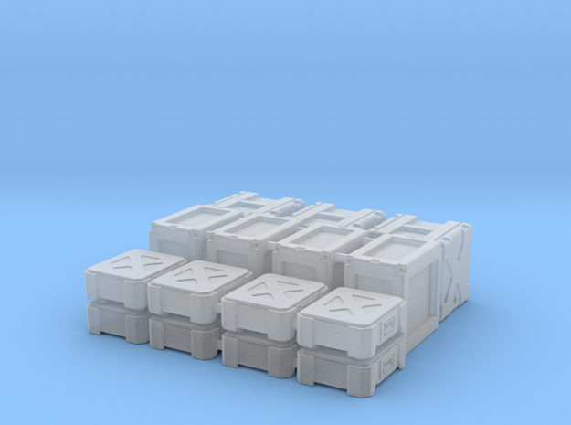 1:72 Star Wars Cargo Boxes 01 in Smooth Fine Detail Plastic