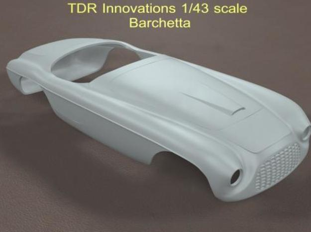 1/43 Barchetta in Smooth Fine Detail Plastic