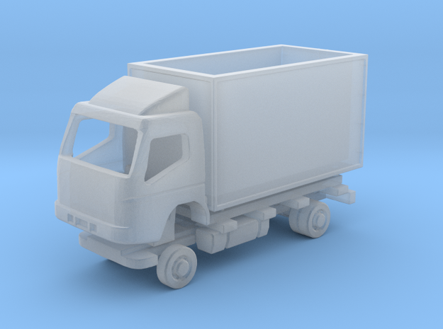N Gauge Mitsubishi Fuso Box SWB Kit in Smooth Fine Detail Plastic