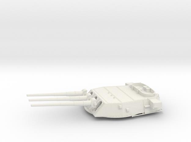 1/192 BB59 16 in (410 mm)/45 caliber Mark 6 gun 2 in White Strong & Flexible