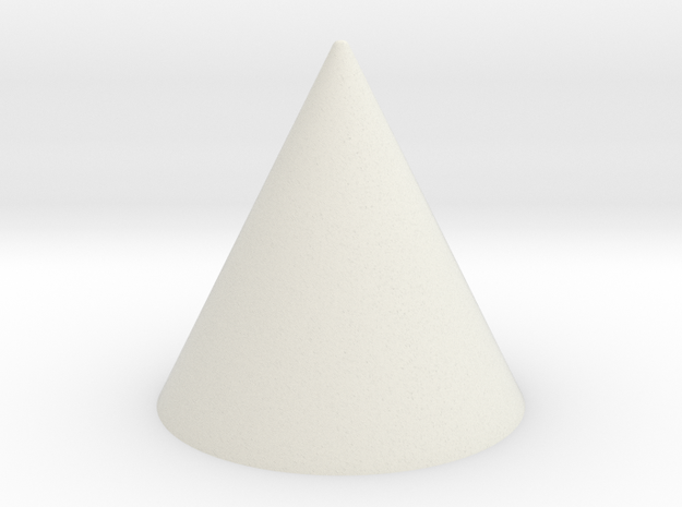 1x1 Spike in White Natural Versatile Plastic