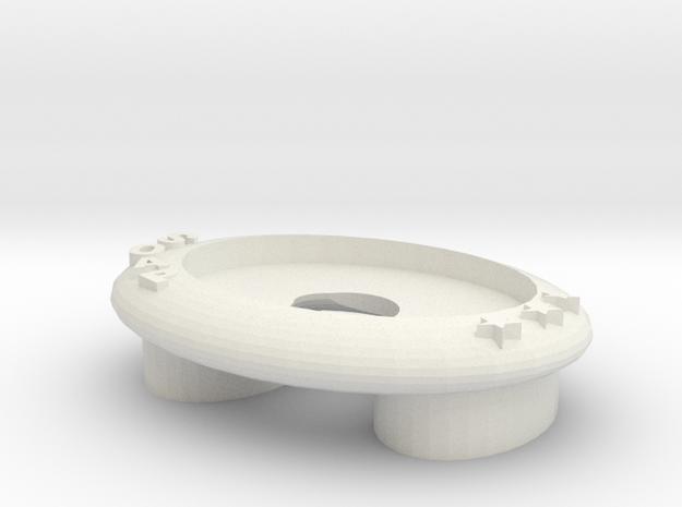 Soap box肥皂盒 in White Natural Versatile Plastic