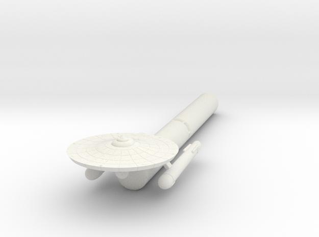 3788 Scale Federation Fleet Tug (2 Pods) WEM in White Natural Versatile Plastic