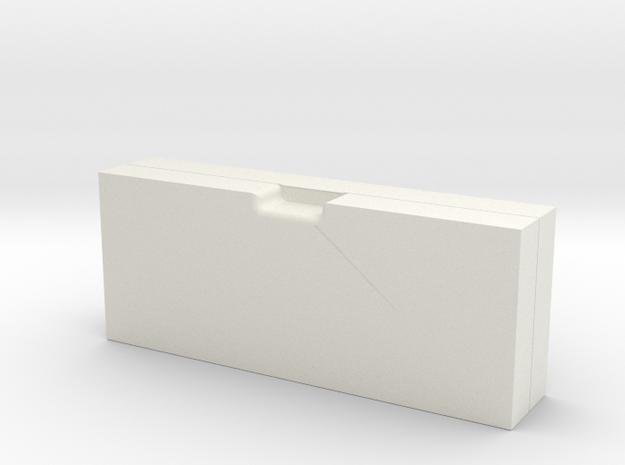 pencil case.stl in White Natural Versatile Plastic