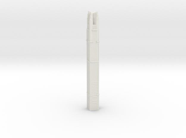 Marina101 - Dubai (1:4000) in White Natural Versatile Plastic