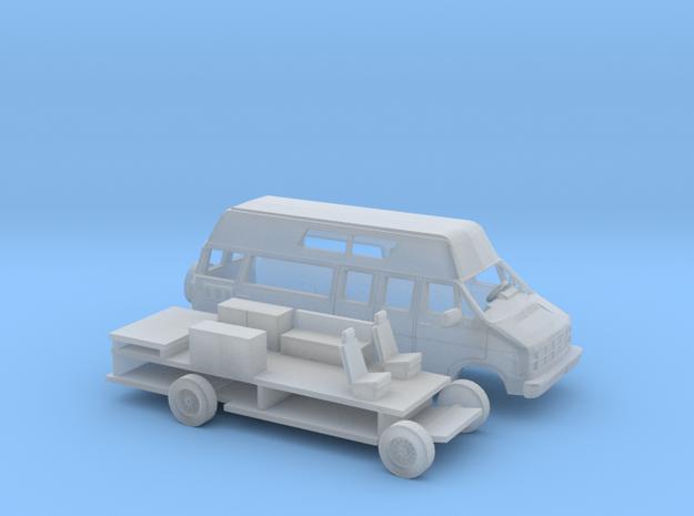 1/87 1986-93 Dodge Ram Van/RV Kit in Frosted Ultra Detail