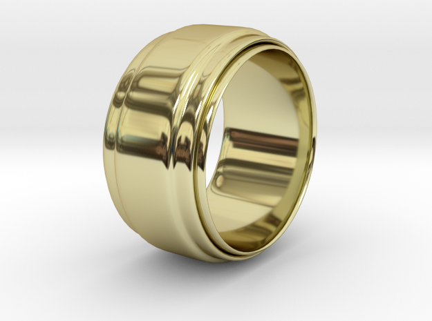 Grace in 18k Gold Plated Brass: Large
