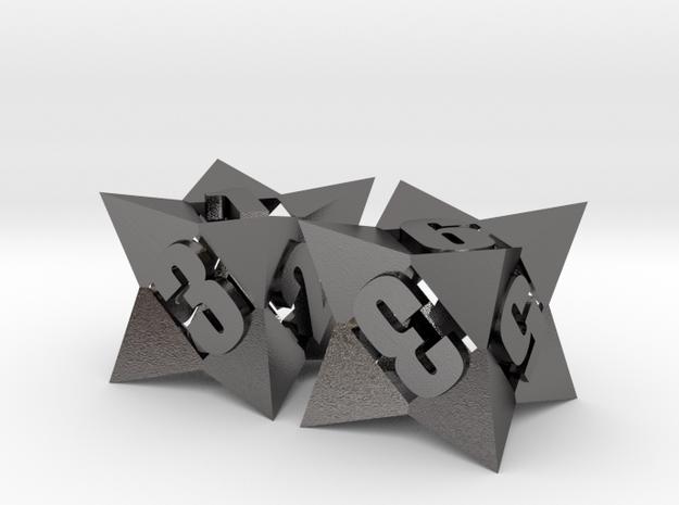Octetric d6 dice pair
