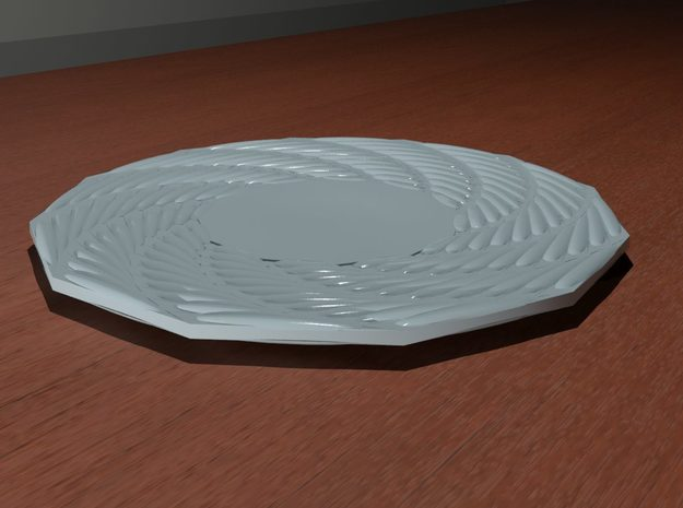 Quark Plate 3d printed Render (Product image coming soon)