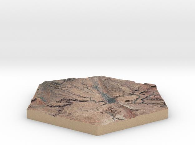 10cm Full-Color Model of Moab Valley, Utah