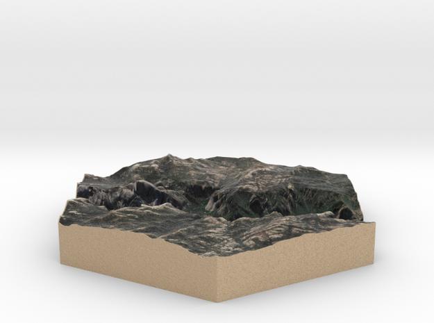 10cm Full-Color Model of Yosemite Valley