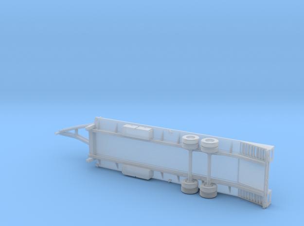 25+5 Gooseneck Equipment Float - 2 Ramp & Pop Up - in Smooth Fine Detail Plastic