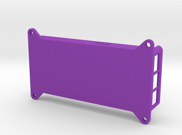 VMX-pi Enclosure (Base) in Purple Processed Versatile Plastic