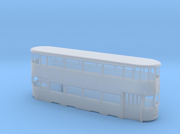 Leeds Tram 301 Ex-LCC 4mm in Smooth Fine Detail Plastic