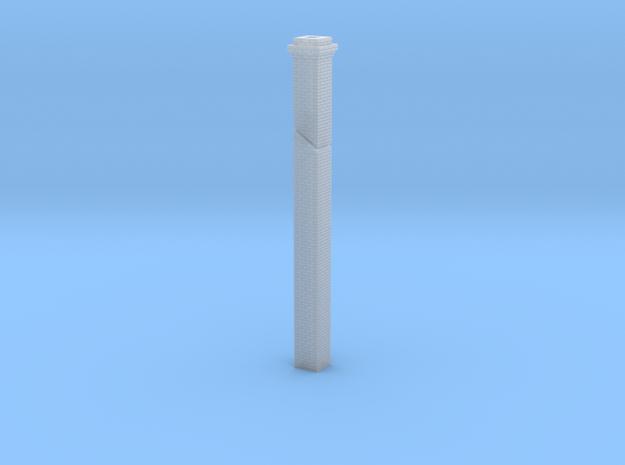HO scale 66% slope chimney in Smoothest Fine Detail Plastic
