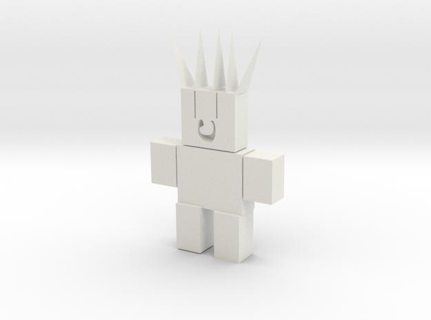 106102231-ROBOT in White Natural Versatile Plastic