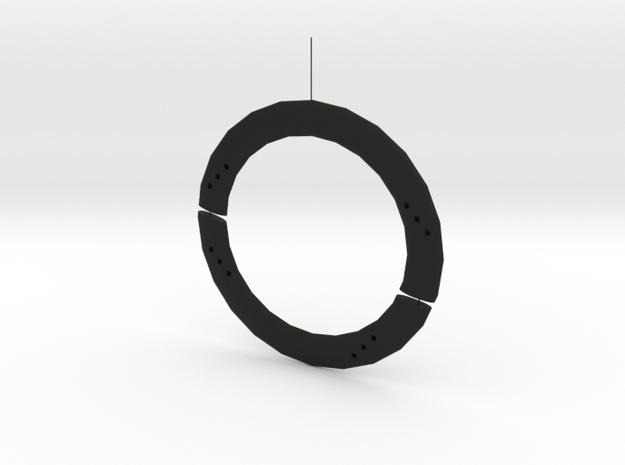 circle in Black Premium Versatile Plastic