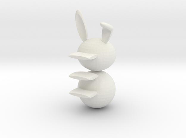 Rabbit racks in White Natural Versatile Plastic