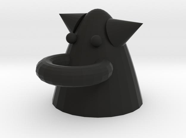 Little devil multifunctional rack in Black Natural Versatile Plastic