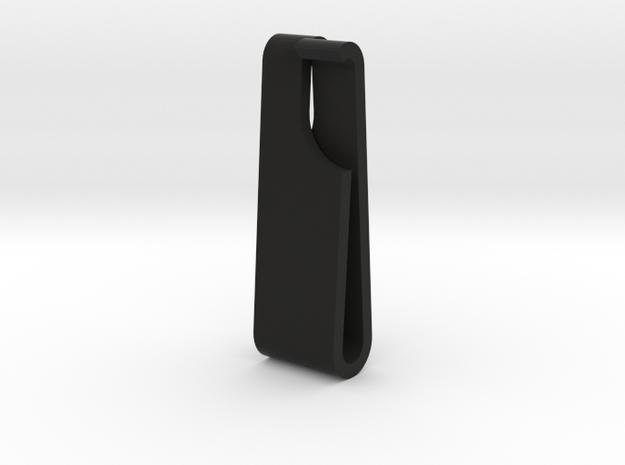 Bag Strap Clip Large in Black Natural Versatile Plastic