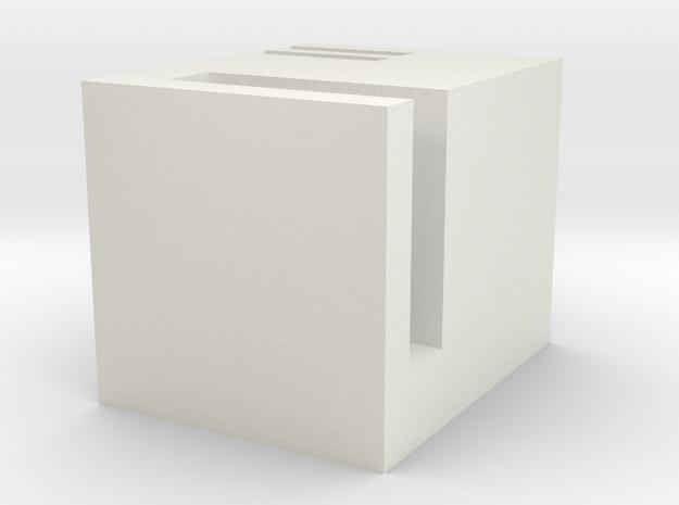 pen case in White Natural Versatile Plastic: Large