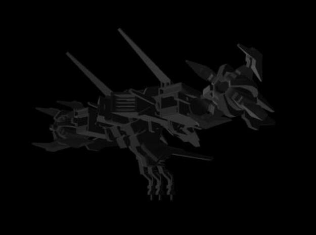 Gal Fighter 2 3d printed Back shot