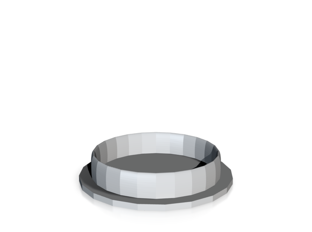 Coaster in Stainless Steel: Small
