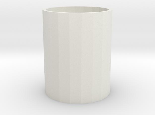 106102227Pen holder in White Natural Versatile Plastic
