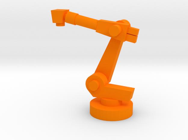 5-Axis Industrial Robot V00 in Orange Processed Versatile Plastic