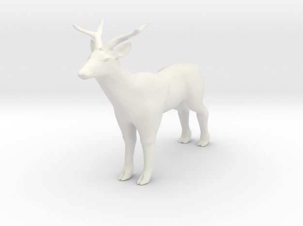 deer doll in White Natural Versatile Plastic