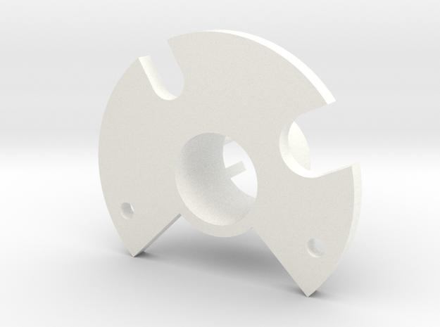 Chamber Floor V1.2 (BETA DONOT BUY) in White Processed Versatile Plastic