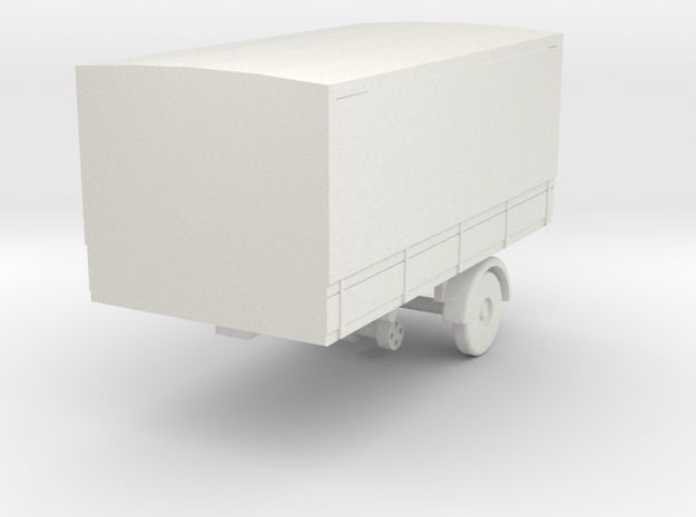 mh-87-scammell-mh6-trailer-15ft-covered-van in White Natural Versatile Plastic