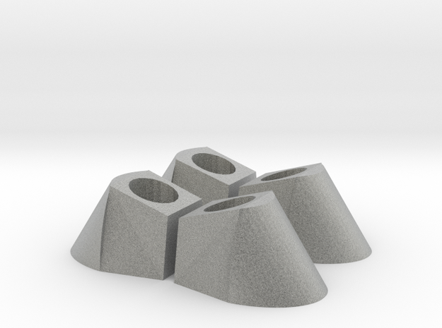 Andromeda Oberon hoofs set of 4 in Metallic Plastic