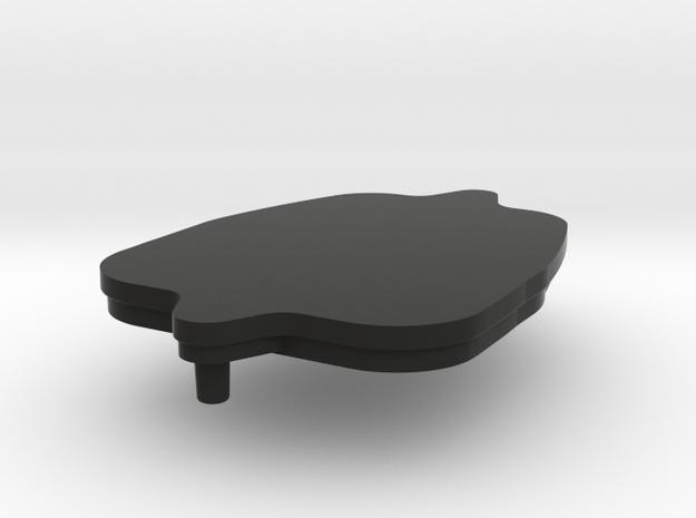 Saab 9-5 Key Lid in Black Natural Versatile Plastic