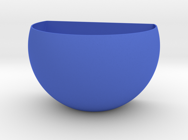 Magnetic Egg Planter in Blue Processed Versatile Plastic