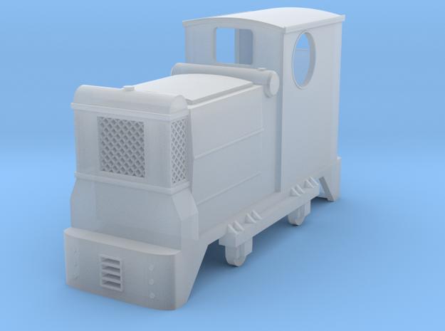 009 Ruston Hornsby Diesel Locomotive in Smoothest Fine Detail Plastic